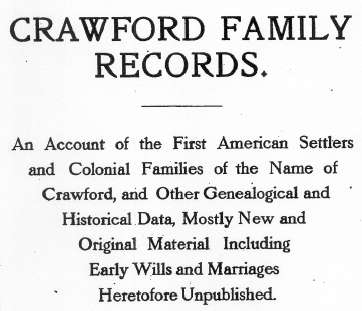 Alexander family records : an account of the first American settlers and colonial families 1914